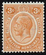 British Honduras 1933 3c. orange, MH (SG#129)