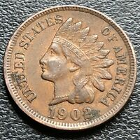 1902 Indian Head Cent 1c Better Grade #26887