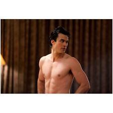 The Vampire Diaries Damon Salvatore in Towel Ian Somerhalder 8 x 10 inch Photo