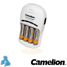 NEUF CAMELION BC-1007 2 h Plug-In Super Rapide Chargeur De Batterie AA AAA
