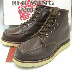Red Wing Auth 8855 Irish Setter Moc Toe Boots Chocolate brown US 6.5E from Japan