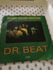 MIAMI SOUND MACHINE DR BEAT PS 45 1984