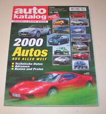 Autokatalog Modelljahr 2000 - Nr. 43!