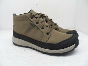 KEEN Men's Glieser Chukka Nylon WP Athletic Casual Shoe Shitake/Black 9M
