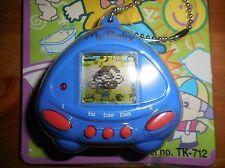 Vintage My Baby TK-712 Virtual Keychain Pocket Game Blue NIB