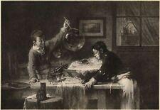 Les bulles de savon Chats Joseph Bail Jules Gabriel Dubois-Menant XIXème siècle