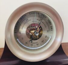 "Chelsea Clock Co. 4.5"" Marine Barometer with a functional Thermometer"