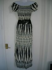 NEW WITH TAGS LADIES 14 16 XL XXL MAXI DRESS SUMMER HOLIDAY BOHO PARTY NIGHT OUT