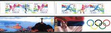 0973 SERBIA 2016 - Olympic Games RIO - Tennis - Taekwondo- MNH Booklet B-Private