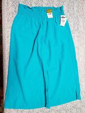 "NWT Old Navy Women's Aqua Elastic 3"" Waistband Stretchy Bermuda Shorts Size Med"