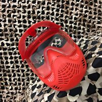 NEW Valken MI-3 Gotcha Paintball Goggle Mask w/ Top Strap - Red