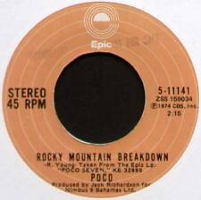 "POCO ~ ROCKY MOUNTAIN BREAKDOWN / FAITH IN THE FAMILIES ~ 1974 US 7"" SINGLE"