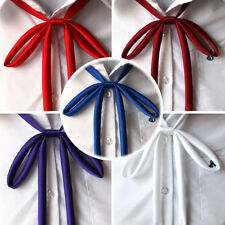 1pc Summer Women Colorful Solid Bowties School Bow Ties Students Uniform Bowknot