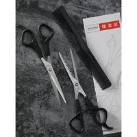 Ciseaux de coupe de cheveux professionnels Kit de coupe éclaircie + peigne