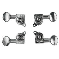 4pcs Silver Ukulele Guitar String Tuning Pegs Strings Tuners Head Accessory