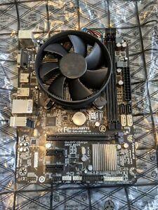 Gigabyte GA-H81M-H Motherboard and xeon CPU