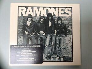 Ramones Ramones CD Album Slipcased Expanded & Remastered Edition - 2001