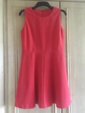 UNITED COLORS OF BENETTON SKATER DRESS SZ L (14) ROSE PEACH CORALL?
