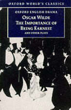 The Importance of Being Earnest and Other Plays (Oxford World's-ExLibrary