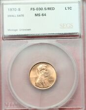 1970s Lincoln Cent (Small Date) Gem BU