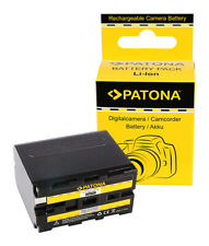 Batteria Patona 6600mah li-ion per Sony HVR-M10P,HVR-M10U,HVR-NX5E,HVR-NX5R