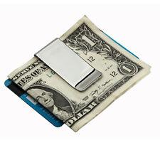 Nuevo Multifunción Cartera Acero inoxidable Mini Billetera Holder Funda Bolsa