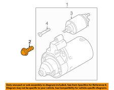 AUDI OEM 16-17 Q3 Quattro 2.0L-L4-Starter Mount Bolt N90967801