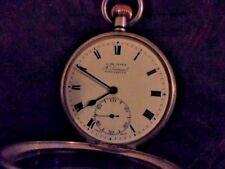 victorian  / edwardian silver pocket h samuel manchester