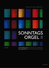 Kirchenorgel Orgel Noten : Sonntagsorgel  Band 2 - leichte Mittelstufe BA9288