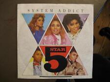 "5 STAR / FIVE STAR ""SYSTEM ADDICT"" - 7"" SINGLE"