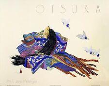 "HISASHI OTSUKA ""TWELVE KIMONOS"" 1981 | LIMITED EDITION JAPANESE PRINT | GALLART"