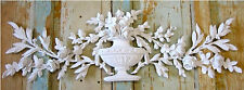SHABBY n CHIC ROSE  FURNITURE APPLIQUE LARGE ROSE FLORAL W/ LEAVES - EXCLUSIVE!