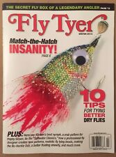 Fly Tyer Trophy Tarpon Tips For Tying Better Dry Flies Winter 2014 FREE SHIPPING