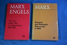 Marx Engels First Indian War of Independence & Economic Philosophic Manuscripts