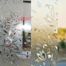 Insulation Frosted Window Static Cling Glass Film Waterproof Home bathroom Decor
