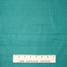Calico Fabric - Small Emerald Green Diamond Lyndhurst - Northcott OOP YARD
