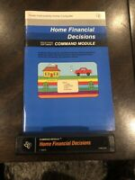VTG Texas Instruments TI-99/4A Computer Games - Home Financial Decisions