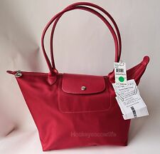 NWT Longchamp Le Pliage Neo Large Tote Bag Ruby Red - Romania - $190 - Receipt!
