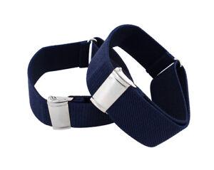 axy 1 Paar Herren Hemd Ärmelhalter in 7 Farben 25mm breit-Hülsenhalter-Ärmelband