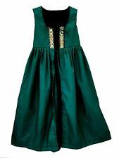 New listing Child Girls Renaissance Princess Medieval Prairie Costume Irish Over Dress Ch6-S