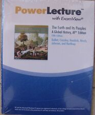 New! Earth And Its Peoples A Global History Ap 5Th Ed Power Lecture W Examview