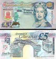 Gibraltar- 2000 £5 Bank Note