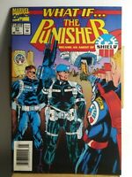What If (Marvel) (1989) # 57 The Punisher Became An Agent of Shield