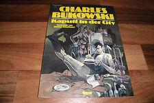 Charles BUKOWSKI + Matthias Schultheiss -- broken in the city // Comic 1984