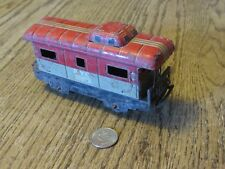 "Rusty Marx Toy NYC 20102 Caboose, 5.75"" X 1.75"" X 3"" overall"