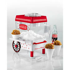 Coca Cola Snow Cone Maker Machine Icee Sno Shaver Electric Shaved Ice Crusher
