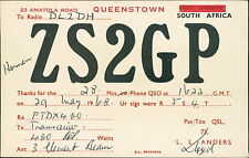 ZS2GP Queenstown, South Africa. L L Anders. - DL1DH  JD.896
