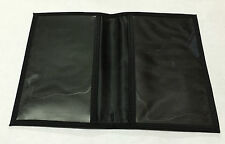 Black Bus Pass Mega Rider Wallet Two Comparment