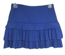 New listing Lucky in Love Tennis Running Skirt/Skort Blue Pleated Ruffles S 4-6