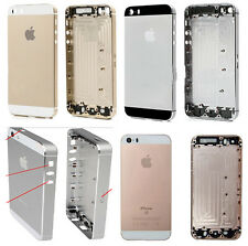 Carcasa Marco Chasis Tapa Trasera Frame Para iPhone 5S Negro Rosa + Herramientas